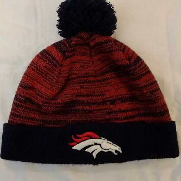 2d257907126 Denver Broncos Knit Cap Beanie Like New